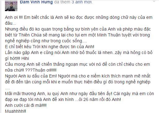 Dam Vinh Hung tung khuyen Minh Thuan bo thuoc la hinh anh 1