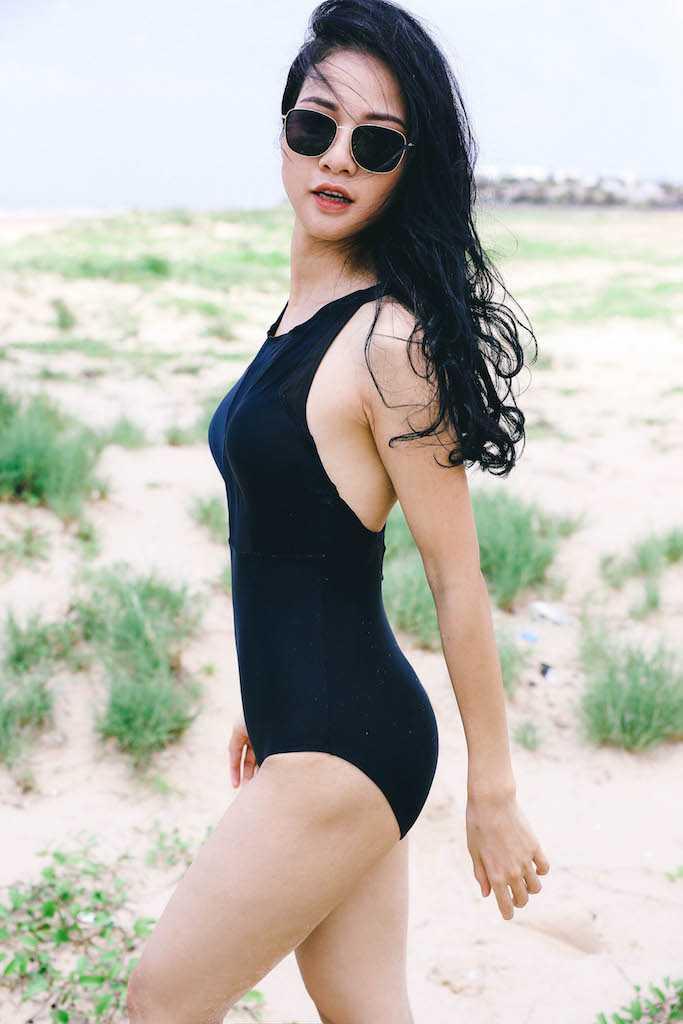 Anh bikini hiem hoi cua Hoa hau the thao Tran Thi Quynh hinh anh 9