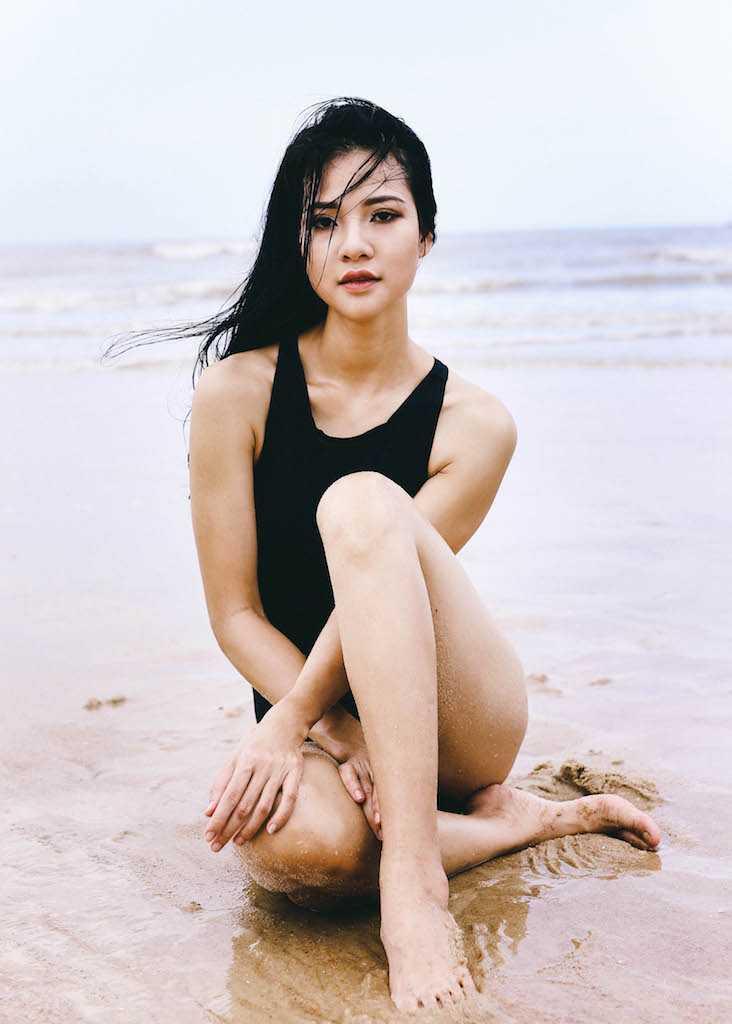 Anh bikini hiem hoi cua Hoa hau the thao Tran Thi Quynh hinh anh 8