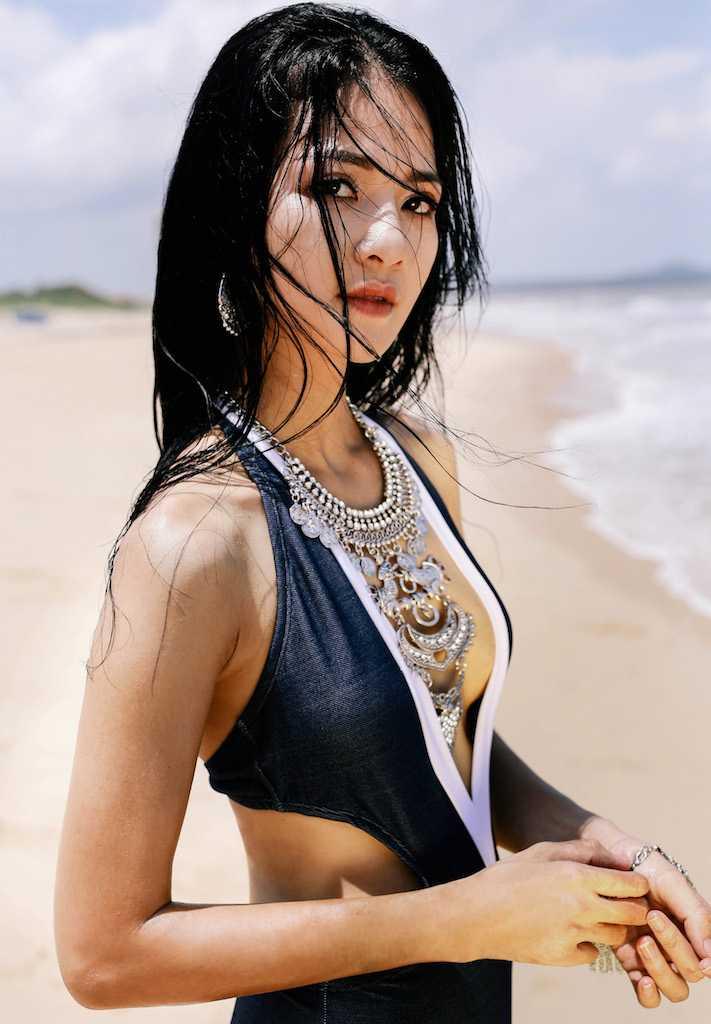 Anh bikini hiem hoi cua Hoa hau the thao Tran Thi Quynh hinh anh 7