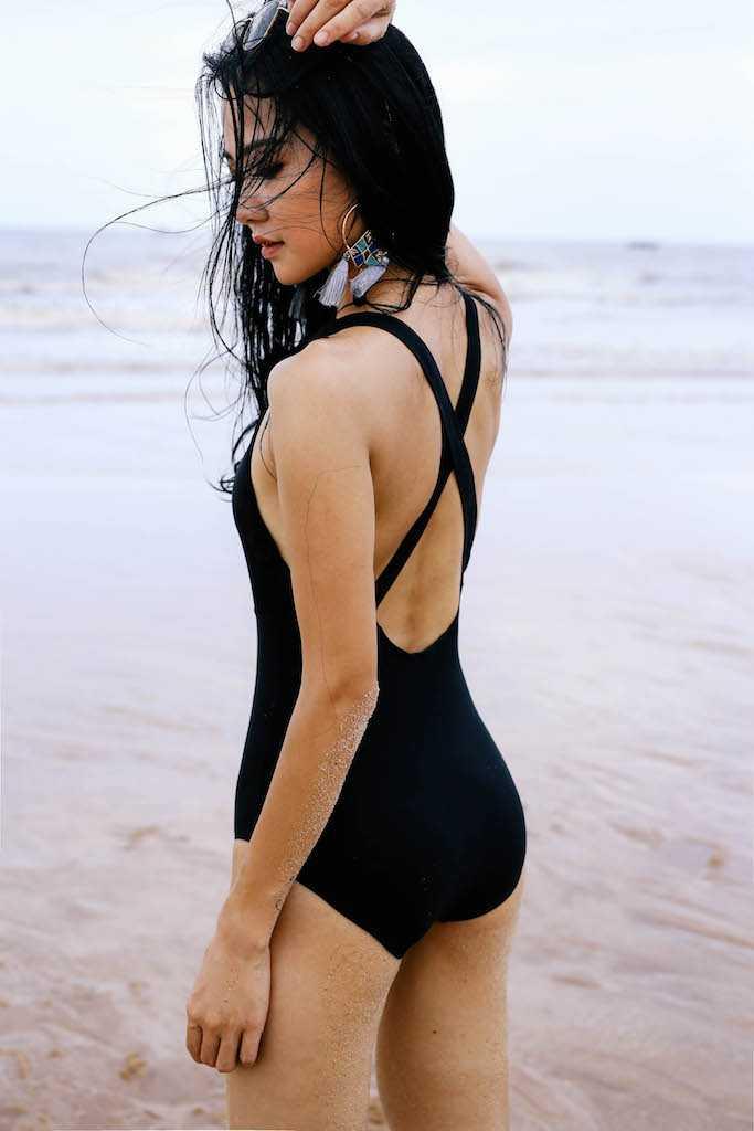 Anh bikini hiem hoi cua Hoa hau the thao Tran Thi Quynh hinh anh 4