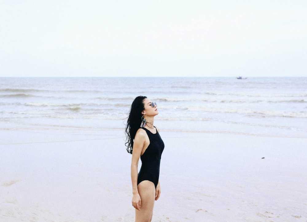 Anh bikini hiem hoi cua Hoa hau the thao Tran Thi Quynh hinh anh 3
