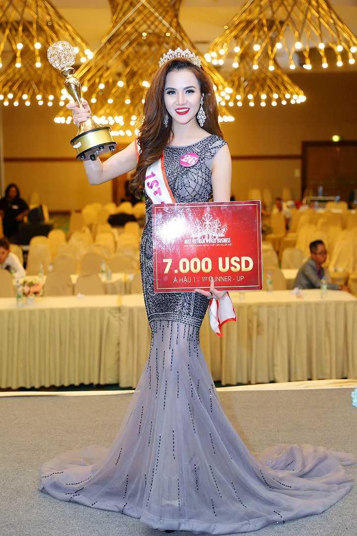 Ngoc Cham dang quang A hau 1 Doanh nhan the gioi nguoi Viet 2016 hinh anh 6