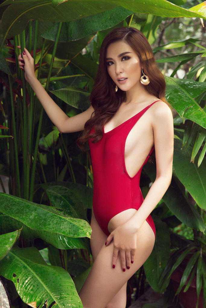 Ngoc Loan The Face goi cam ben Nam vuong the gioi hinh anh 7