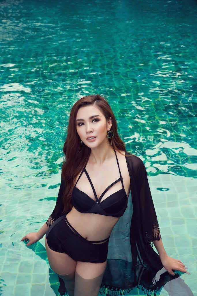 Ngoc Loan The Face goi cam ben Nam vuong the gioi hinh anh 9