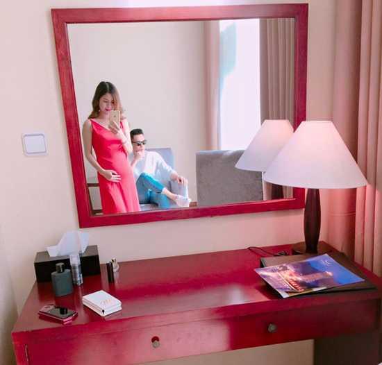Ban gai Viet Anh 'Chay an' mang thai con trai hinh anh 1