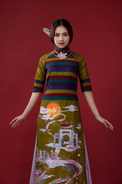 'Guong mat kha ai' To Nhu thanh nang tho moi cua nha thiet ke Lan Huong hinh anh 8