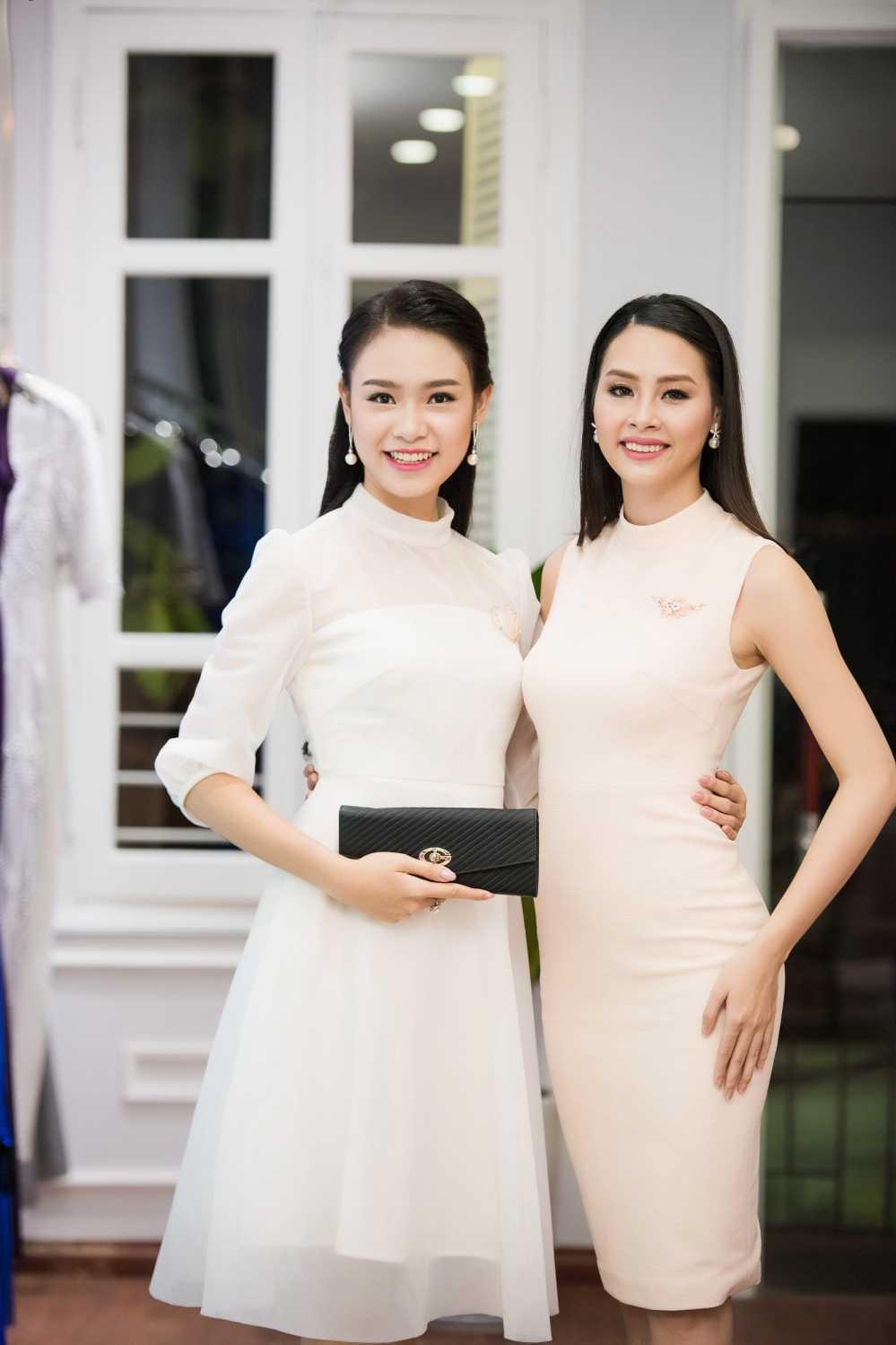 'Nguoi dep truyen thong' Ngoc Van hoi ngo dan chi Huyen My hinh anh 7
