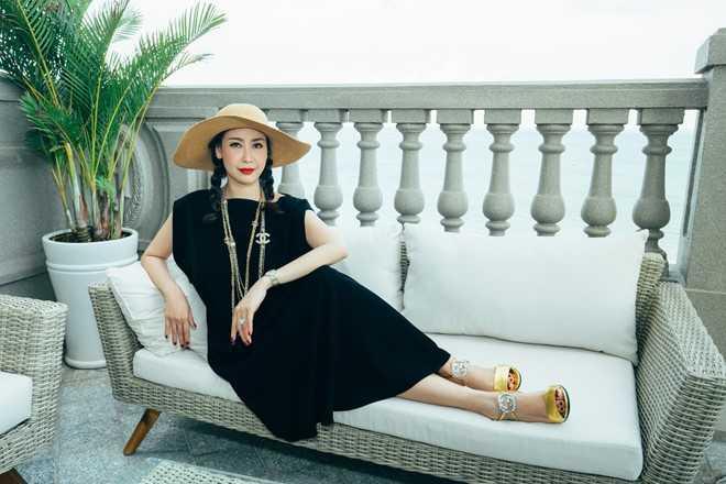 Can canh penthouse trieu USD theo phong cach hoang gia cua hoa hau Ha Kieu Anh hinh anh 1