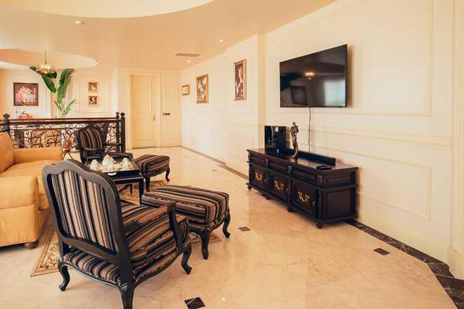 Can canh penthouse trieu USD theo phong cach hoang gia cua hoa hau Ha Kieu Anh hinh anh 2