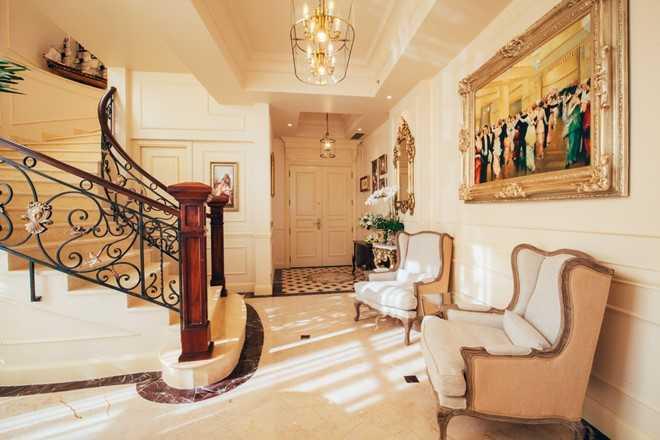 Can canh penthouse trieu USD theo phong cach hoang gia cua hoa hau Ha Kieu Anh hinh anh 3