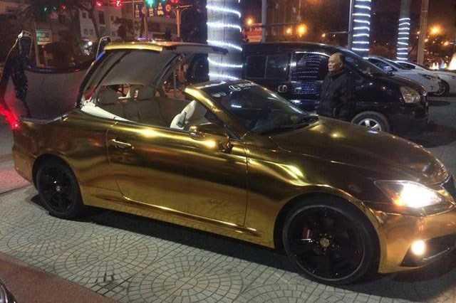 Xe sang tien ty Lexus IS 350C 'ma vang' tai Hai Phong hinh anh 2