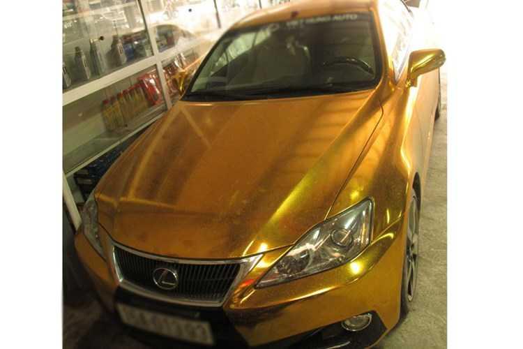 Xe sang tien ty Lexus IS 350C 'ma vang' tai Hai Phong hinh anh 3
