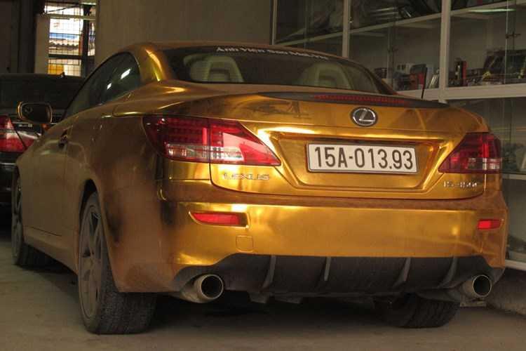 Xe sang tien ty Lexus IS 350C 'ma vang' tai Hai Phong hinh anh 5