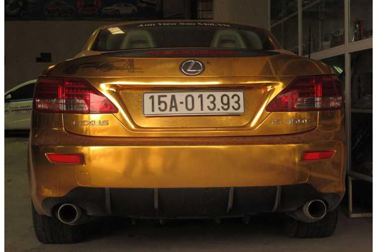 Xe sang tien ty Lexus IS 350C 'ma vang' tai Hai Phong hinh anh 6