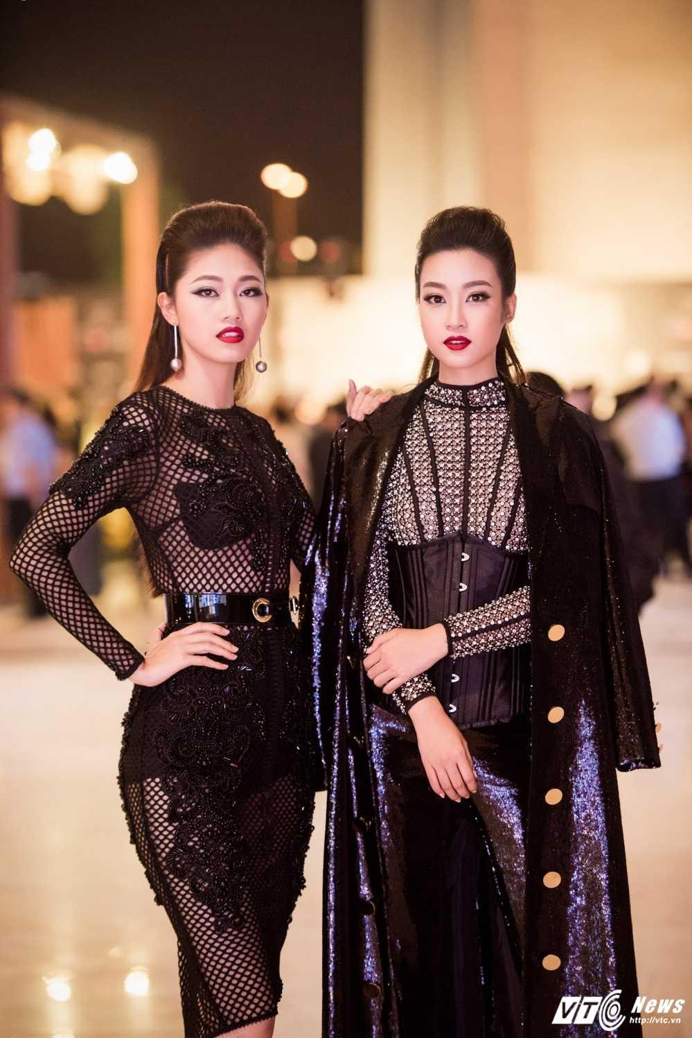 Hoa hau My Linh 'lot xac' ca tinh, A hau Thanh Tu mac goi cam tao bao hinh anh 1