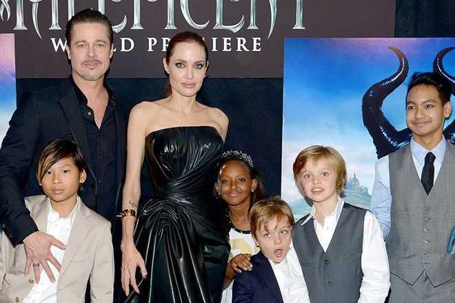 Brad Pitt guc nga khi con trai ca Maddox noi: 'Ong khong phai cha toi' hinh anh 2