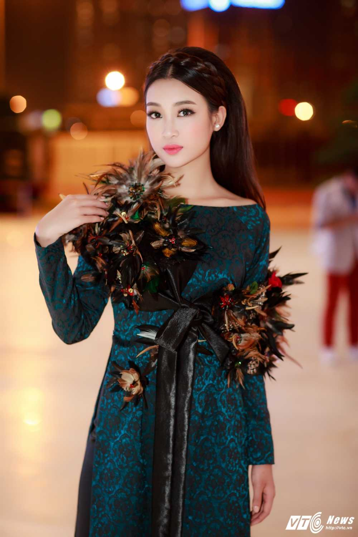 Hoa hau My Linh, A hau Thanh Tu dien ao dai la mat thu hut su chu y hinh anh 4