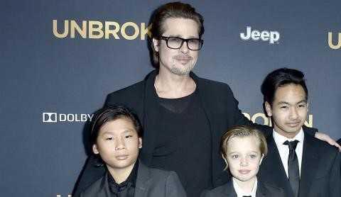 Angelina Jolie gay go, chi con 35 kg sau ly hon Brad Pitt hinh anh 2