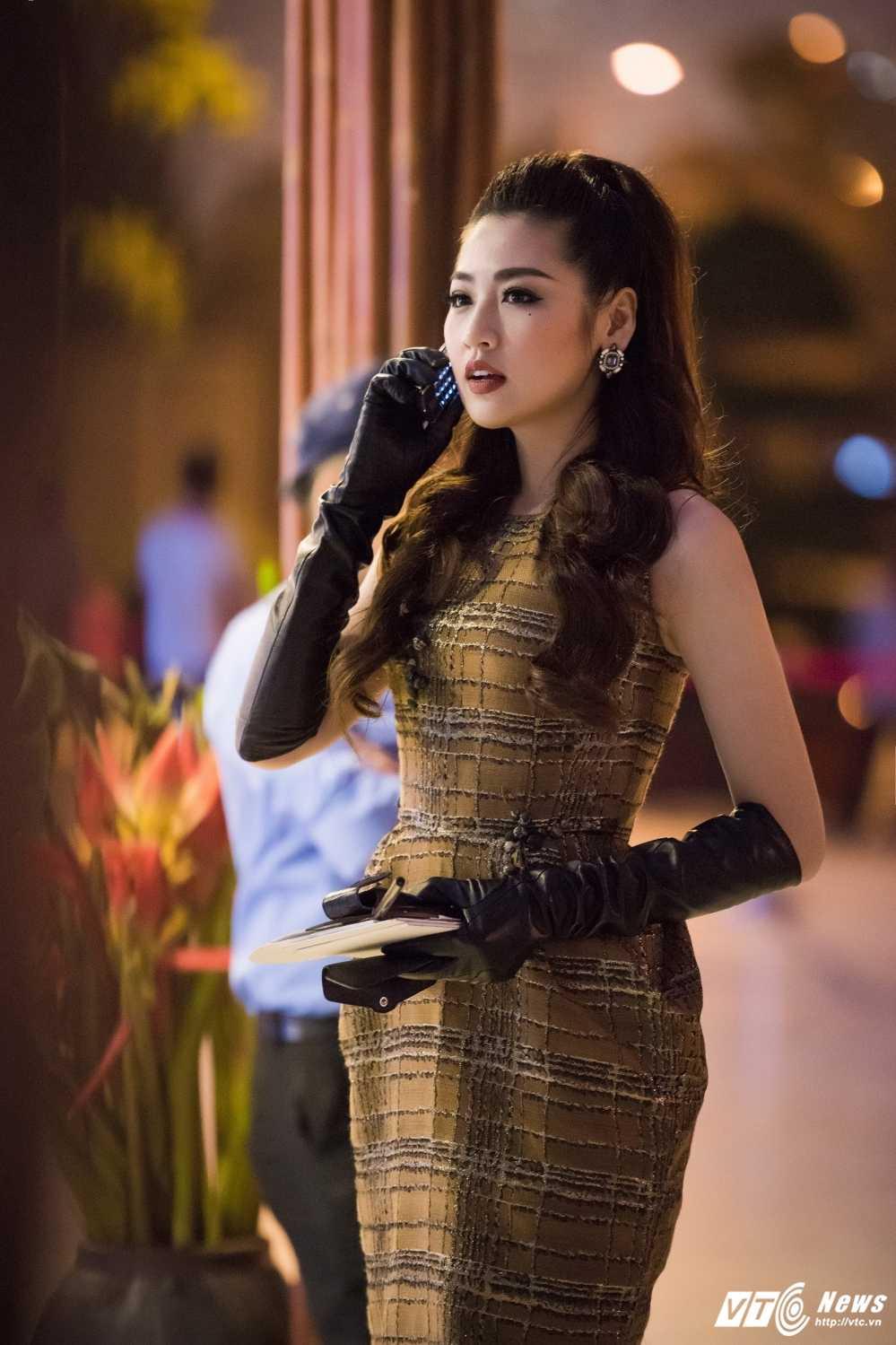 Hoa hau My Linh do sac voi chi em A hau Thanh Tu -Tra My hinh anh 11