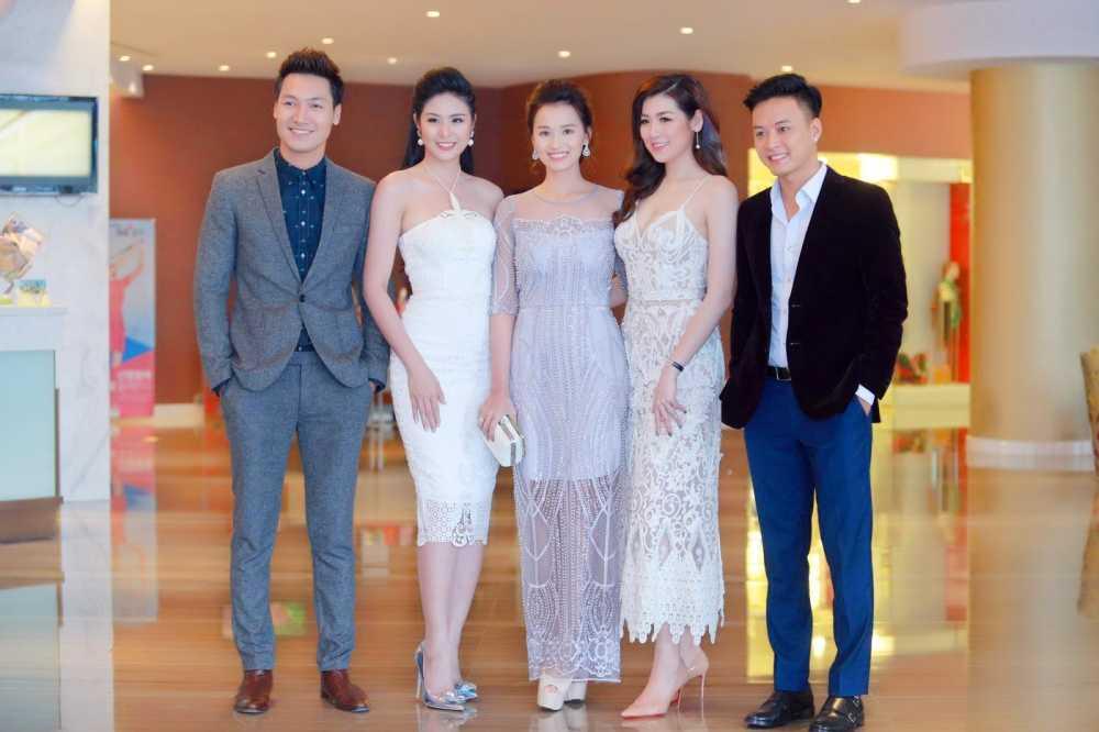 Manh Truong, La Thanh Huyen, Hong Dang, Tu Anh, Ngoc Han hoi ngo trong su kien hinh anh 1
