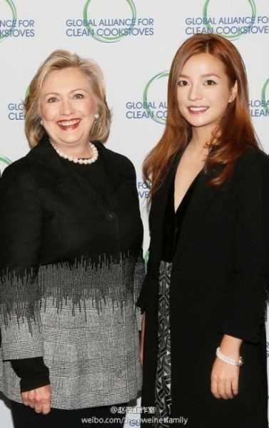 Trieu Vy, Ly Lien Kiet vuong nghi van gop quy cho ba Hillary Clinton hinh anh 1