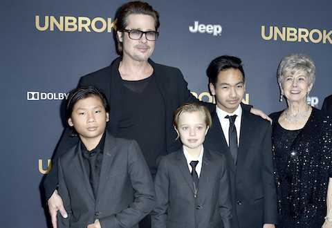 Ro tin don 'doi lai con' tu Angelina Jolie, me ruot Pax Thien chinh thuc len tieng hinh anh 4
