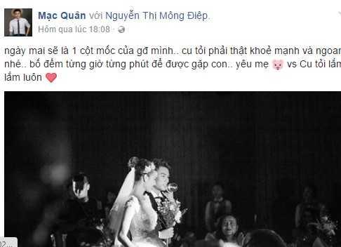 Ky Han sinh con trai dau long voi Mac Hong Quan hinh anh 1