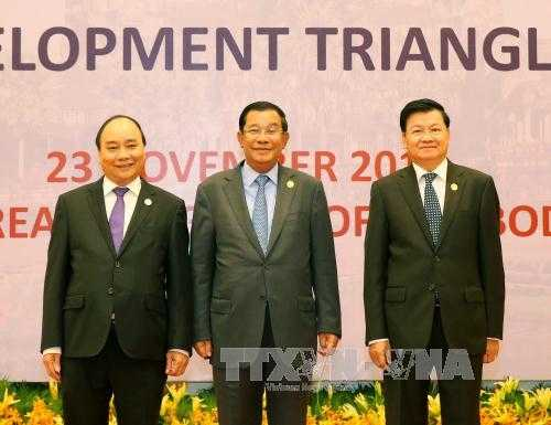 Thu tuong du Hoi nghi Cap cao Tam giac phat trien Campuchia – Lao – Viet Nam hinh anh 1