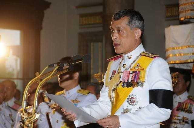 Thai tu Thai Lan chinh thuc tro thanh Quoc vuong Rama X hinh anh 1