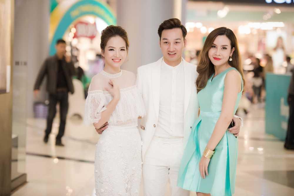 Dan Le, Luu Huong Giang quan quyt do ve goi cam hinh anh 8