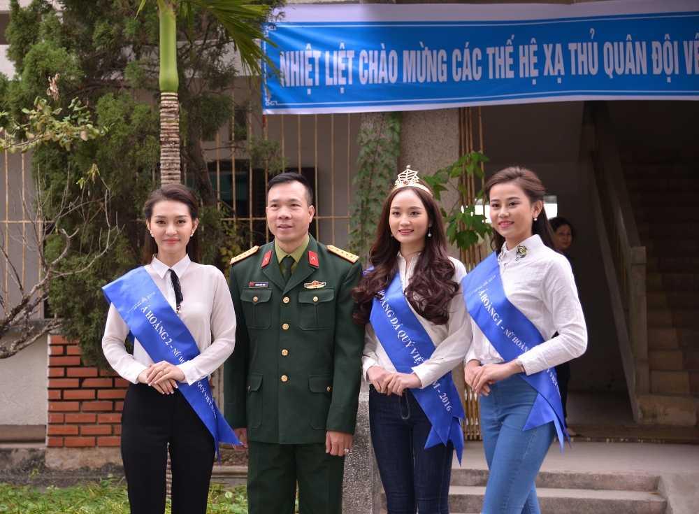 Top 3 'Nu hoang da quy Viet Nam 2016' dong hanh cung xa thu Hoang Xuan Vinh hinh anh 4