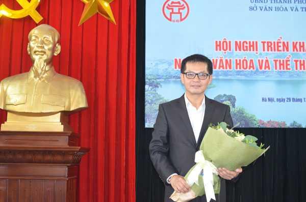 NSND Trung Hieu lam Giam doc Nha hat kich Ha Noi hinh anh 2