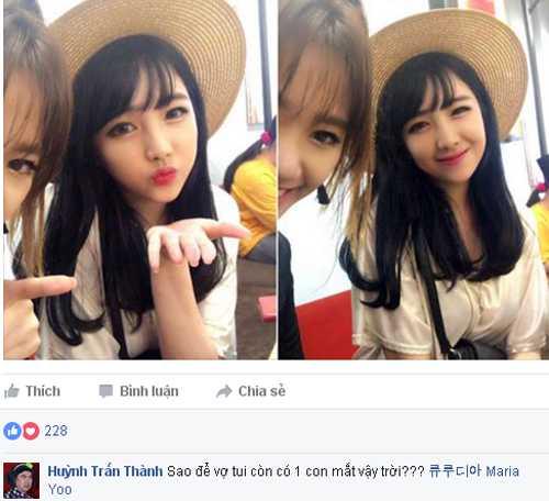 Co em gái xinh xan cua Hari Won bị Trán Thành treu chọc hinh anh 1