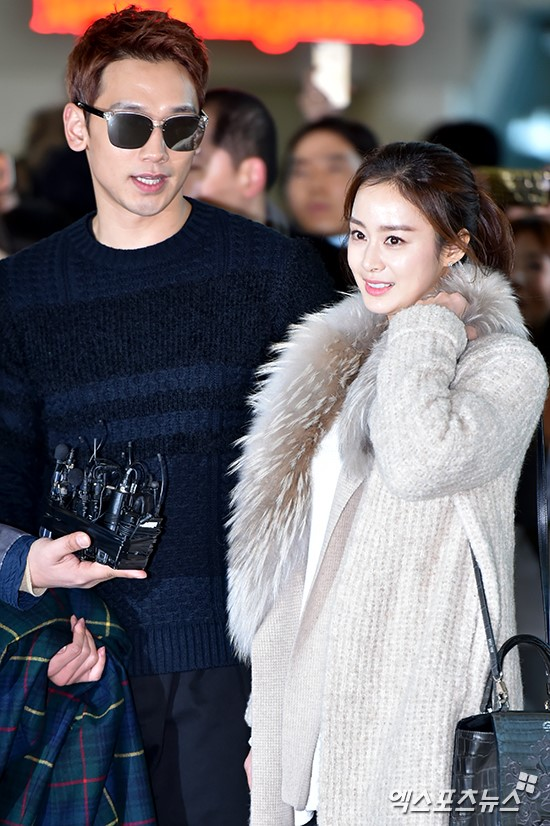 Kim Tae Hee va Bi Rain lan dau xuat hien sau dam cuoi hinh anh 7