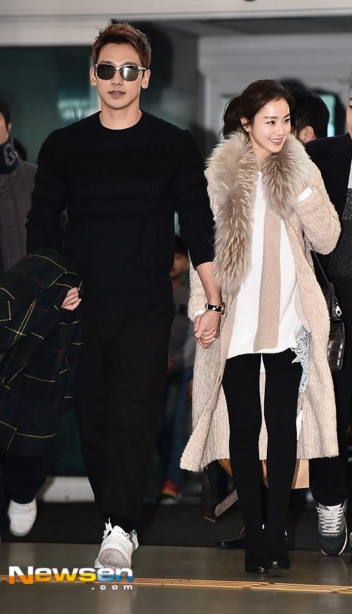 Kim Tae Hee va Bi Rain lan dau xuat hien sau dam cuoi hinh anh 2