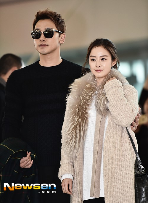Kim Tae Hee va Bi Rain lan dau xuat hien sau dam cuoi hinh anh 4