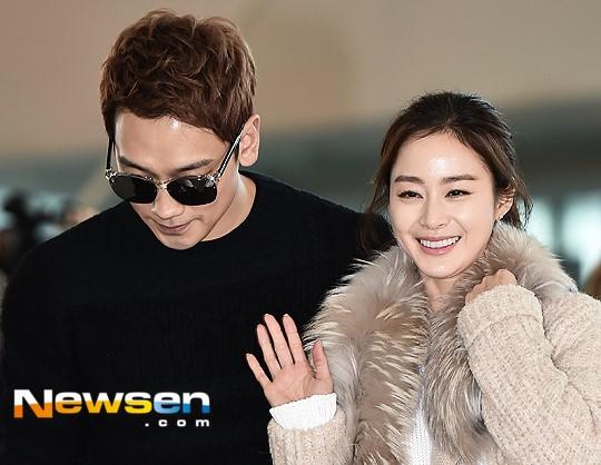 Kim Tae Hee va Bi Rain lan dau xuat hien sau dam cuoi hinh anh 5