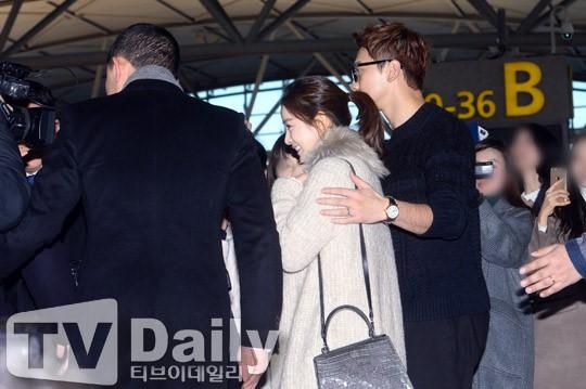 Kim Tae Hee va Bi Rain lan dau xuat hien sau dam cuoi hinh anh 6