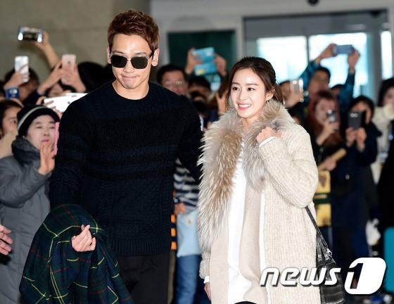 Kim Tae Hee va Bi Rain lan dau xuat hien sau dam cuoi hinh anh 8