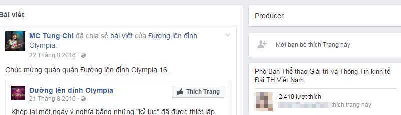 'Nguoi dan ba quyen luc nhat VTV3' cung bi gia mao Facebook hinh anh 3