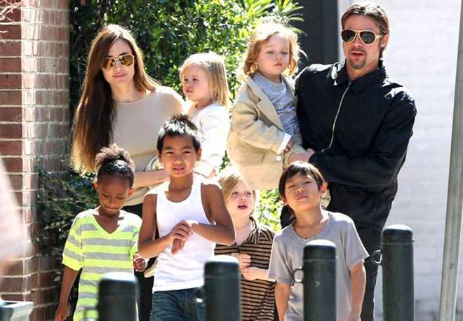 Brad Pitt tam su voi vo cu khi ly hon Angelina Jolie hinh anh 2