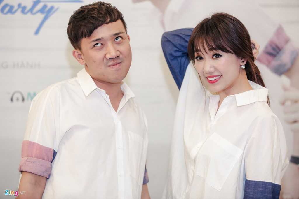 Tran Thanh: 'Moi toi deu om Hari Won, noi chuyen den 3h sang' hinh anh 3