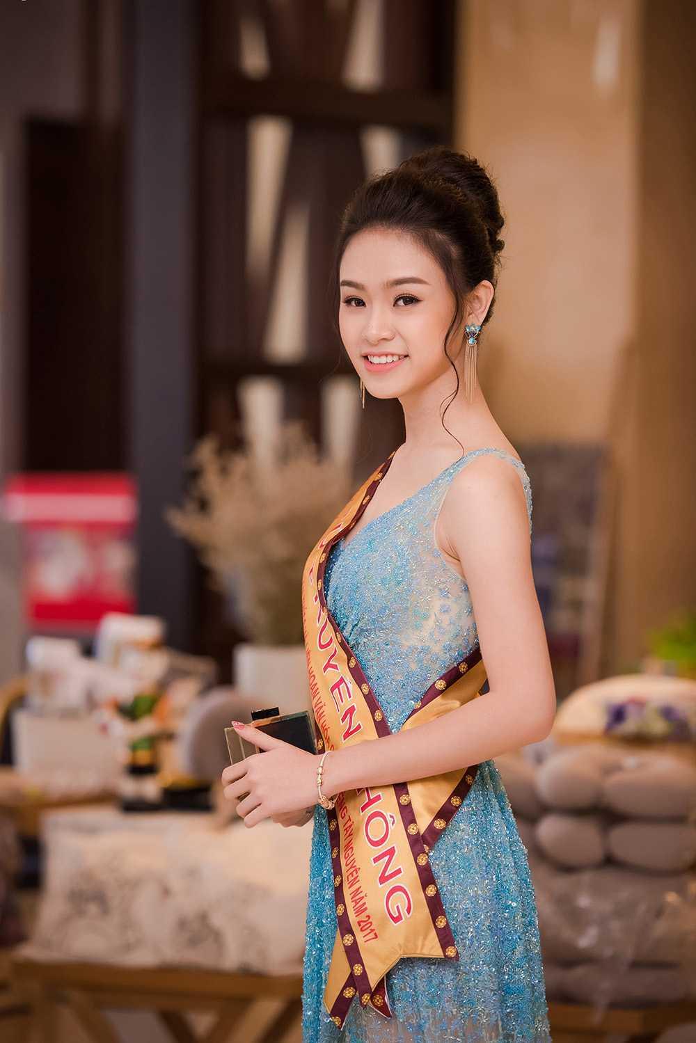 'Co gai vang' cua Hoa hau Viet Nam quyen ru o Le hoi ca phe hinh anh 3