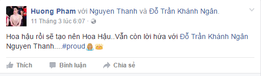 Ha Ho va Ly Qui Khanh bi phan ung vi 'da deu' Pham Huong hinh anh 4