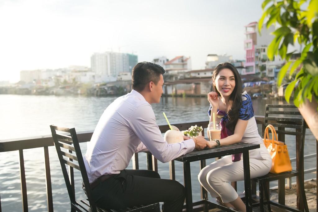 Cong Vinh, Thuy Tien ghi hinh cho kenh truyen hinh nuoc ngoai hinh anh 4
