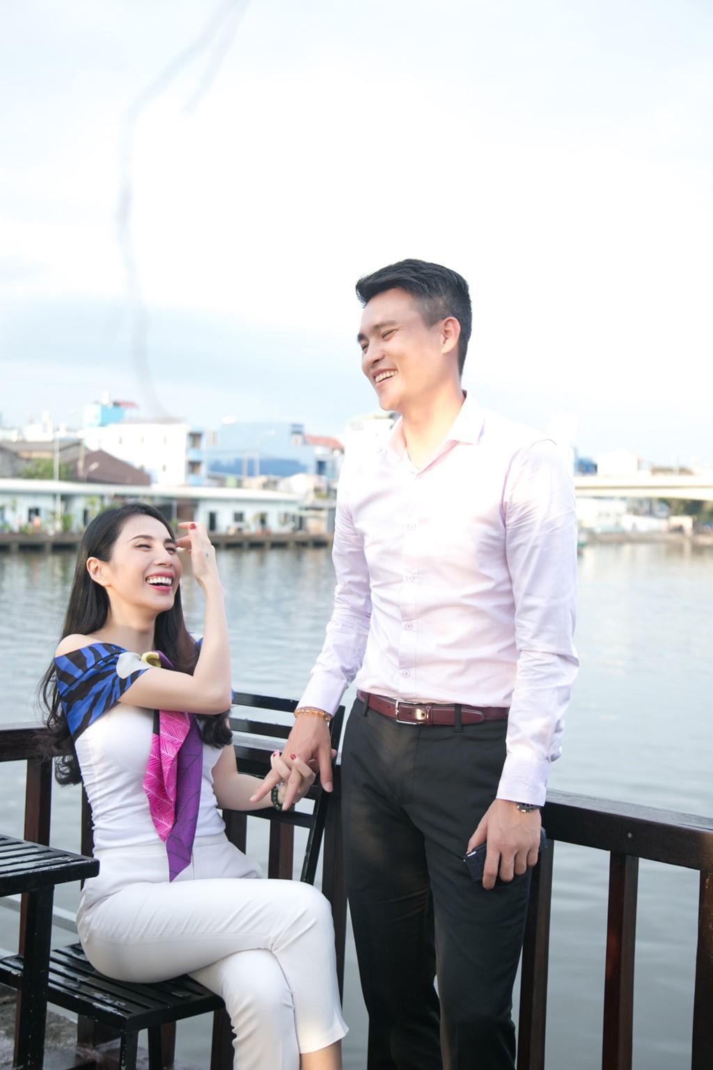 Cong Vinh, Thuy Tien ghi hinh cho kenh truyen hinh nuoc ngoai hinh anh 6
