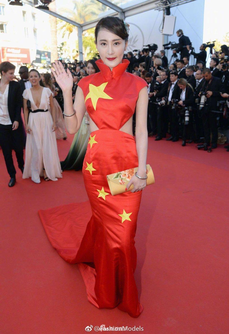 Trung Quoc mat mat vi dan sao hang bet xuat hien tren tham do Cannes hinh anh 5