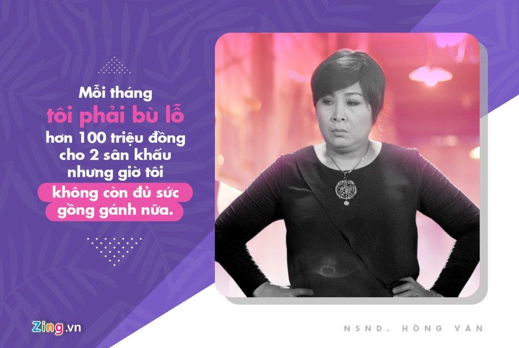 NSND Hong Van: 'Moi thang toi lo hon 200 trieu dong cho 2 san khau' hinh anh 3
