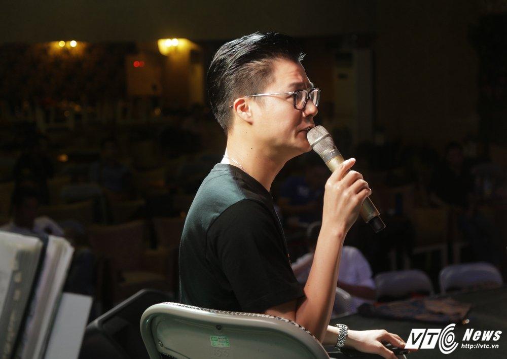 Quang Le tai xuat sau nhung phat ngon chuyen giuong chieu voi Thanh Bi hinh anh 5